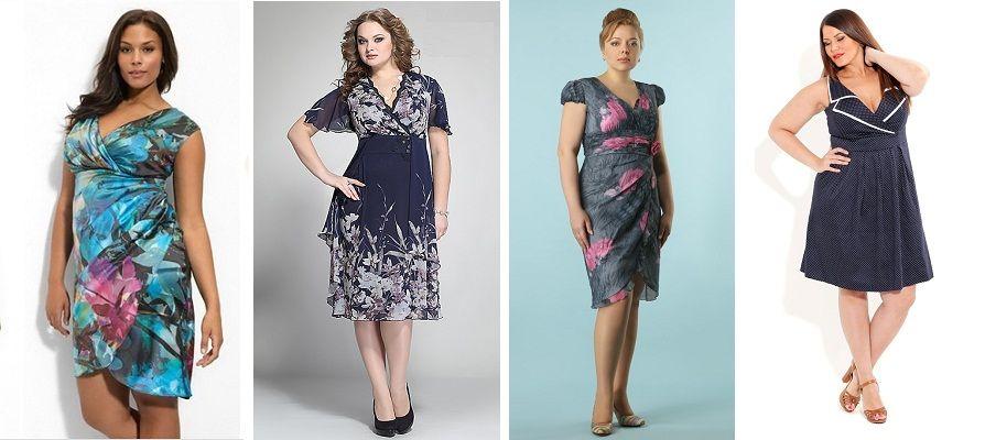 Выбираем платья с запахом